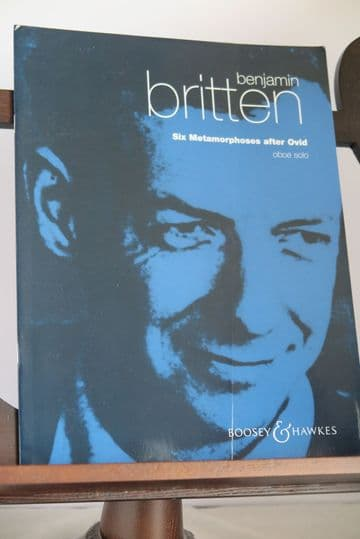 Britten B - Six Metamorphoses After Ovid for Oboe Solo
